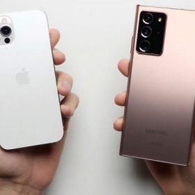 Speedtest iPhone 12 Pro với Galaxy Note20 Ultra: Ai là vua tốc độ mới?